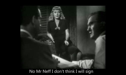 double indemnity still