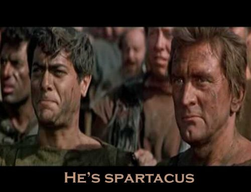 he's spartacus
