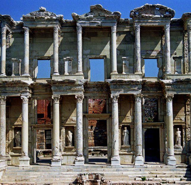 Celsus-library, Ephesus