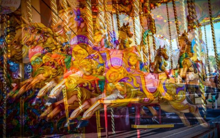 carousel multiple exposure
