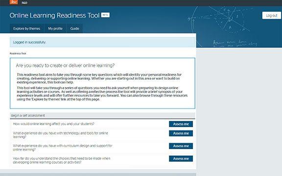 online-learning-tool-start-screen
