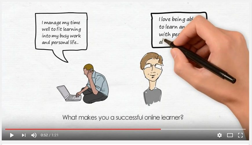 Successful online learners