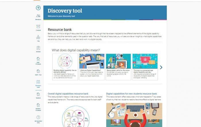 discovery tool screenshot
